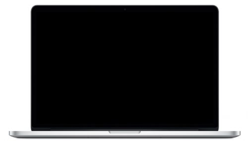 how to fix black screen on macbook pro